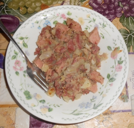 Corned Beef Hash and Hornswoggling