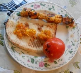 GrilledSaffronChicken-