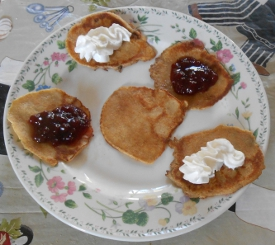 Spelt Pancakes and the Around The World Pancake Relay