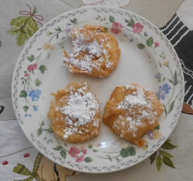 Belgian Apple Fritters and World Peace