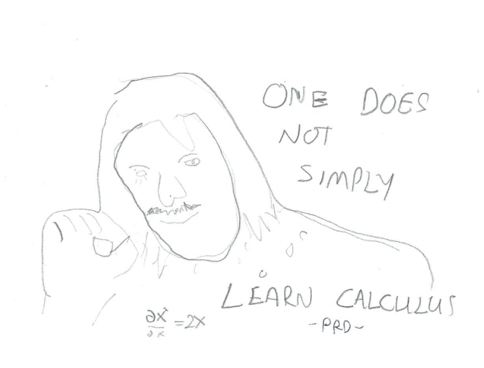 Bad Artist Funny #3, Calculus