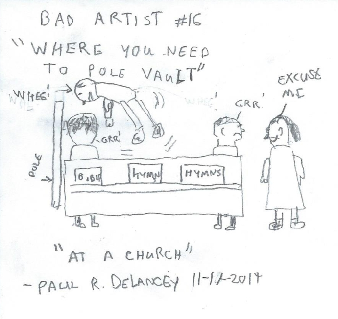 Bad Artist #16, Churches