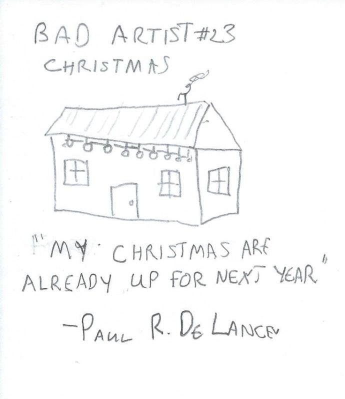 Bad Artist #23, Christmas