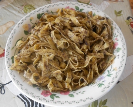 Noodles With Poppy Seeds and the Polish Poppy Pasta Football League
