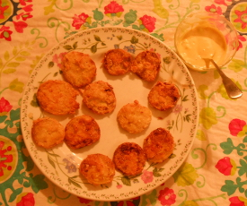 FriedGreenTomatoesCornmeal-
